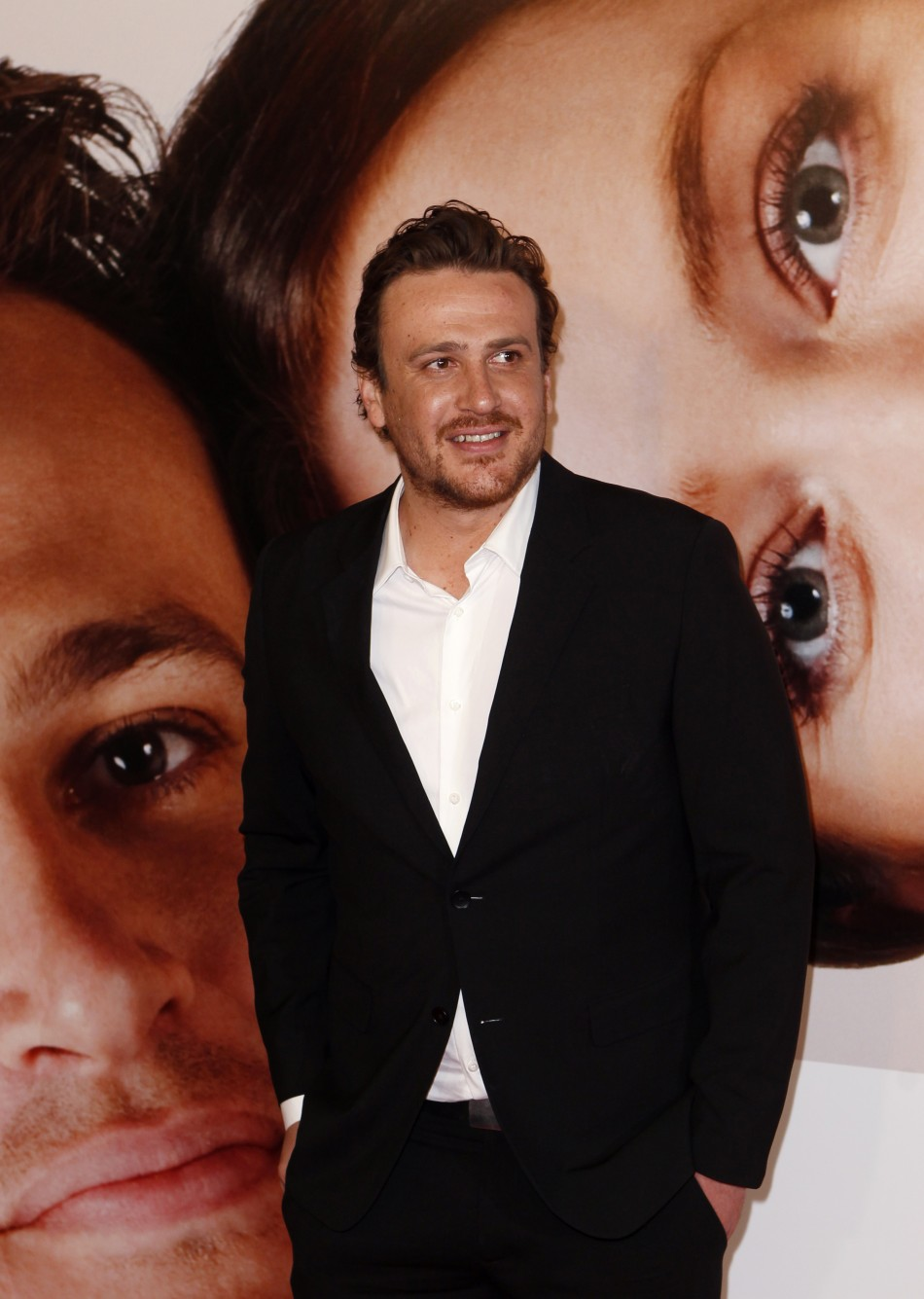 "Cast member Jason Segel arrives for the premiere of the film ""The Five-Year Engagement"" to begin the 2012 Tribeca Film Festival in New York"