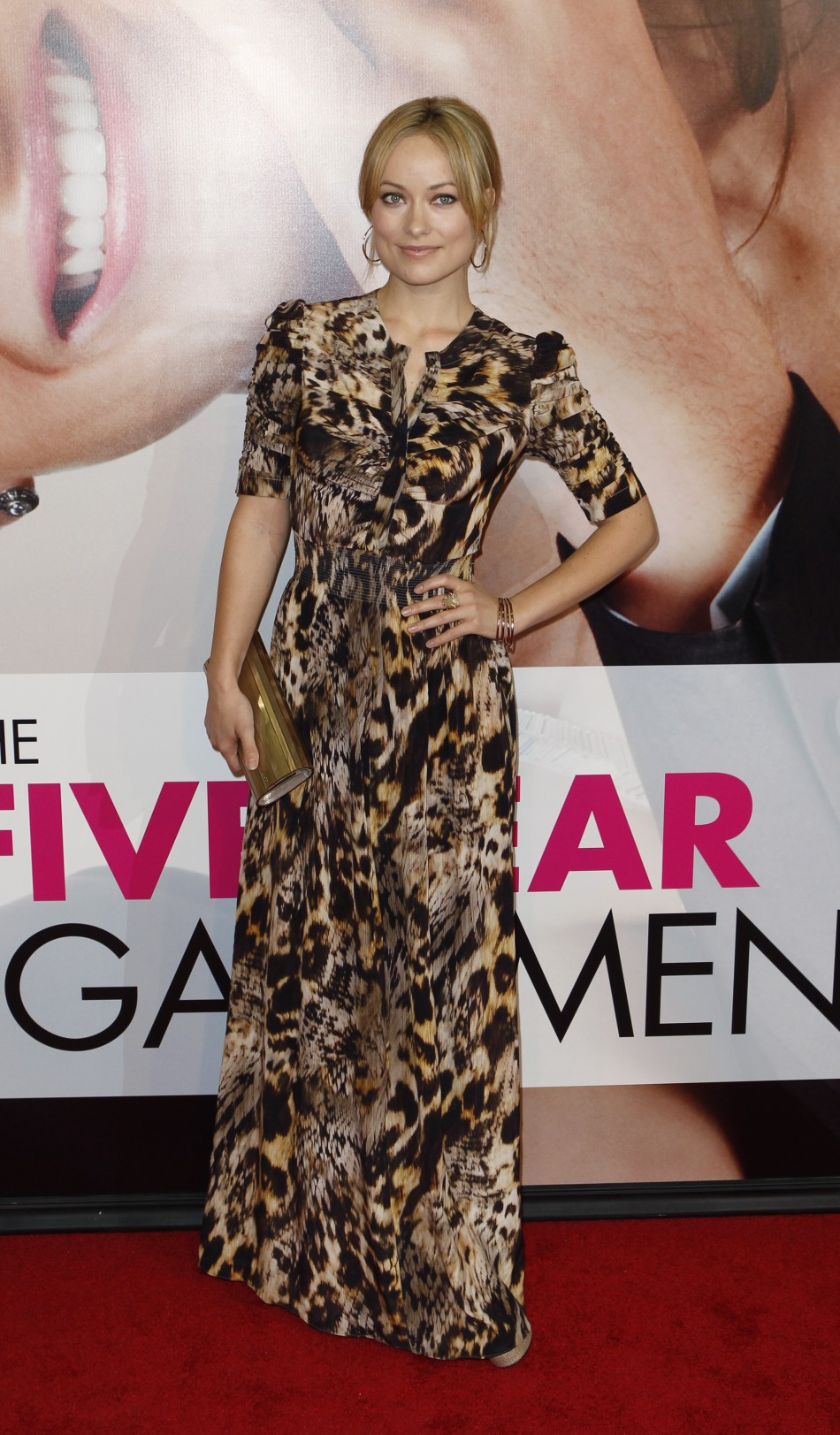 Actress Olivia Wilde arrives for the premiere of the film quotThe Five-Year Engagementquot to begin the 2012 Tribeca Film Festival in New York