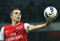Arsenal's Robin van Persie