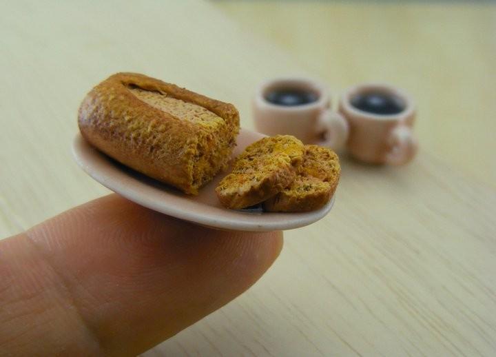 Food On Fingertip