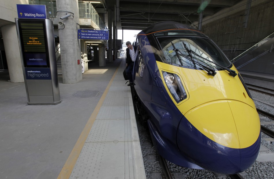 High Speed 'Javelin' Train, London