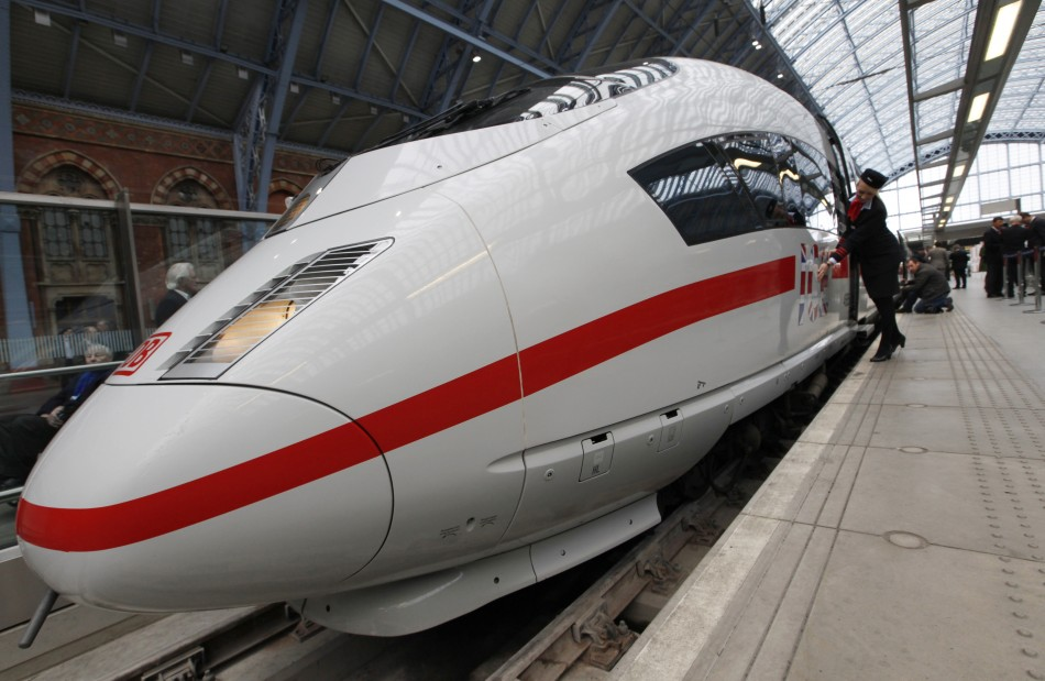 German High Speed Train