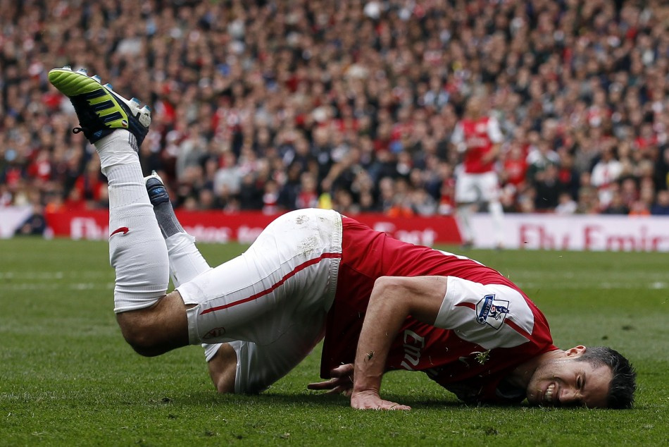 Arsenal's van Persie