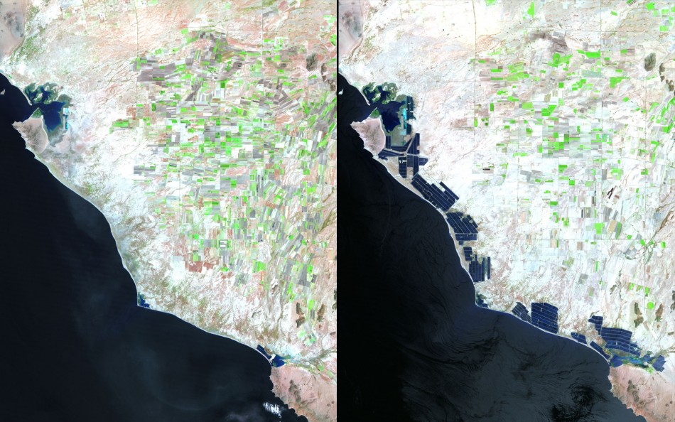 Earth Day 2012 NASA Images Chronicle Drastic Impact of Earths Climatic Change