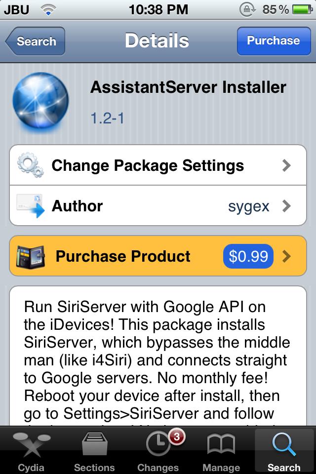 Installing AssistantServer Installer