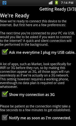 Reverse Tether App: Connect Your Android Smartphone to 3G