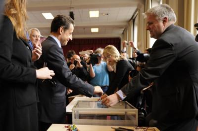 Sarkozy Votes