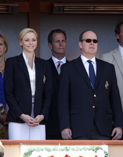 Princess Charlene Sports New Cropped Hairdo at 2012 Monte Carlo Tennis Masters Finals