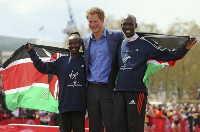 Prince Harry with winners