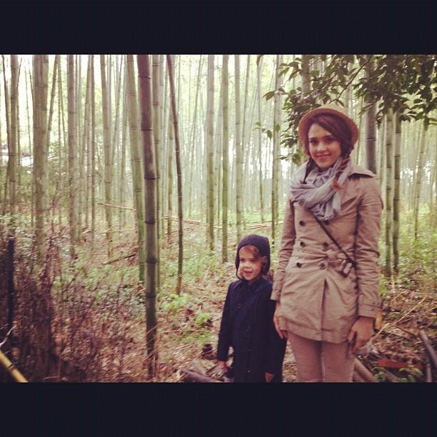 Jessica Alba Documents Family Holiday in Japan through Twitter and Instagram Photos
