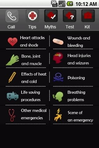 First Aid App for Android