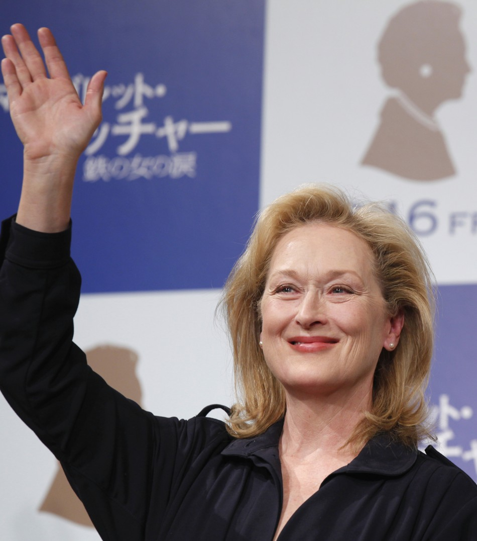 No. 8 Meryl Streep