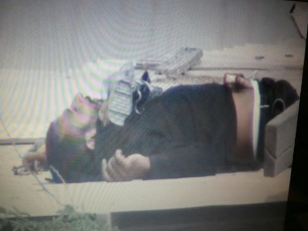 the body of 36-year-old Salah Abbas Habibwas found on the roof of a building
