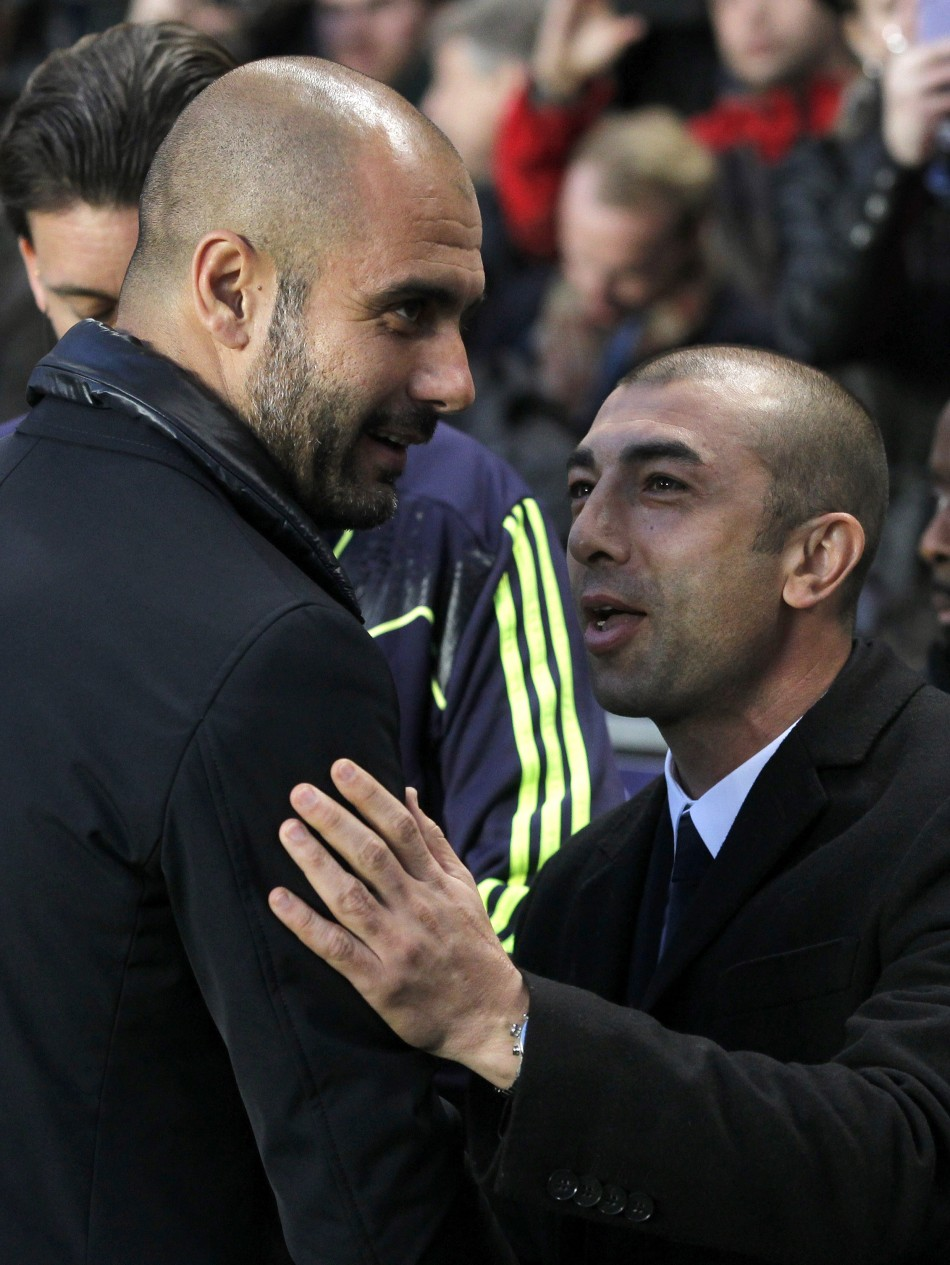 Guardiola and Di Matteo