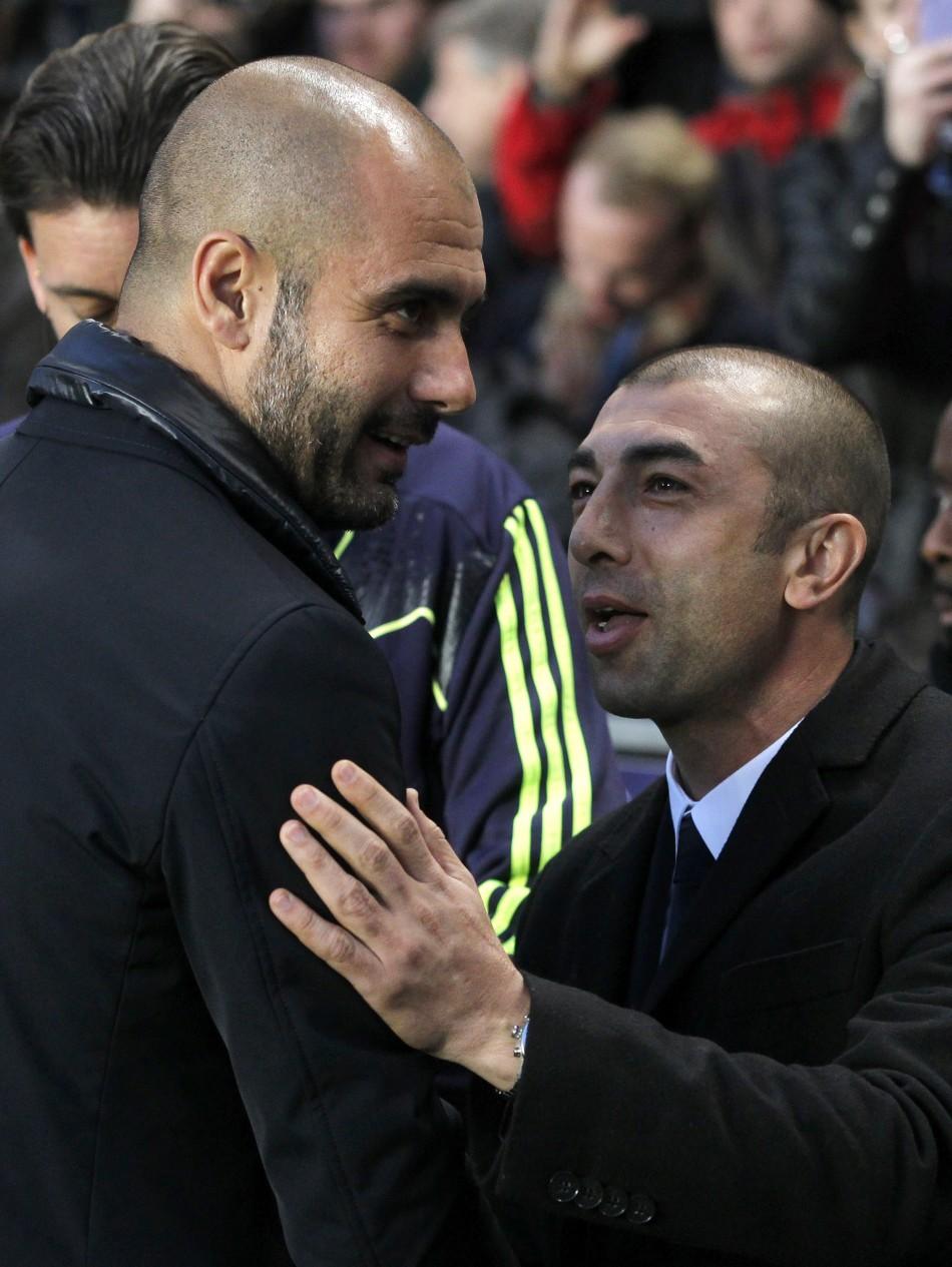 Guardiola and Di Matteo