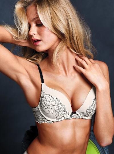 Push up bra worn by Victoria Secret Angels