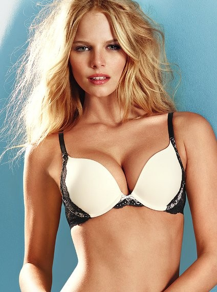 Push up bra worn by Victoria Secret Angels