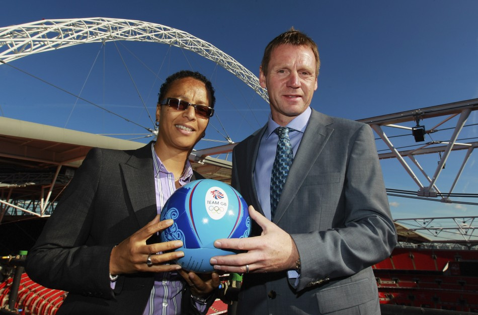 Hope Powell and Stuart Pearce