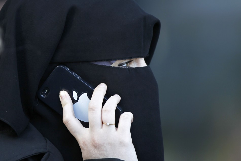 Veiled Woman in France