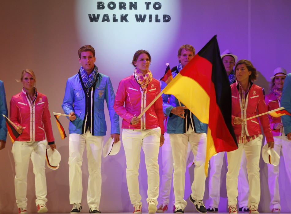 London 2012: Official German Olympic Uniform Unveiled by Athletes