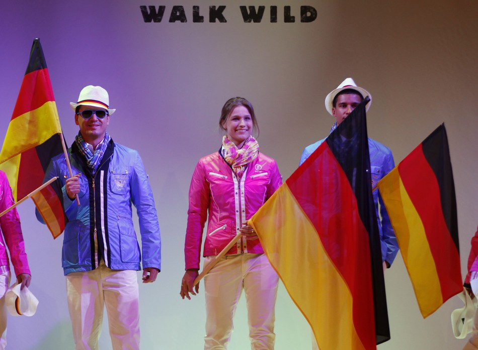 London 2012 Official German Olympic Uniform Unveiled by Athletes