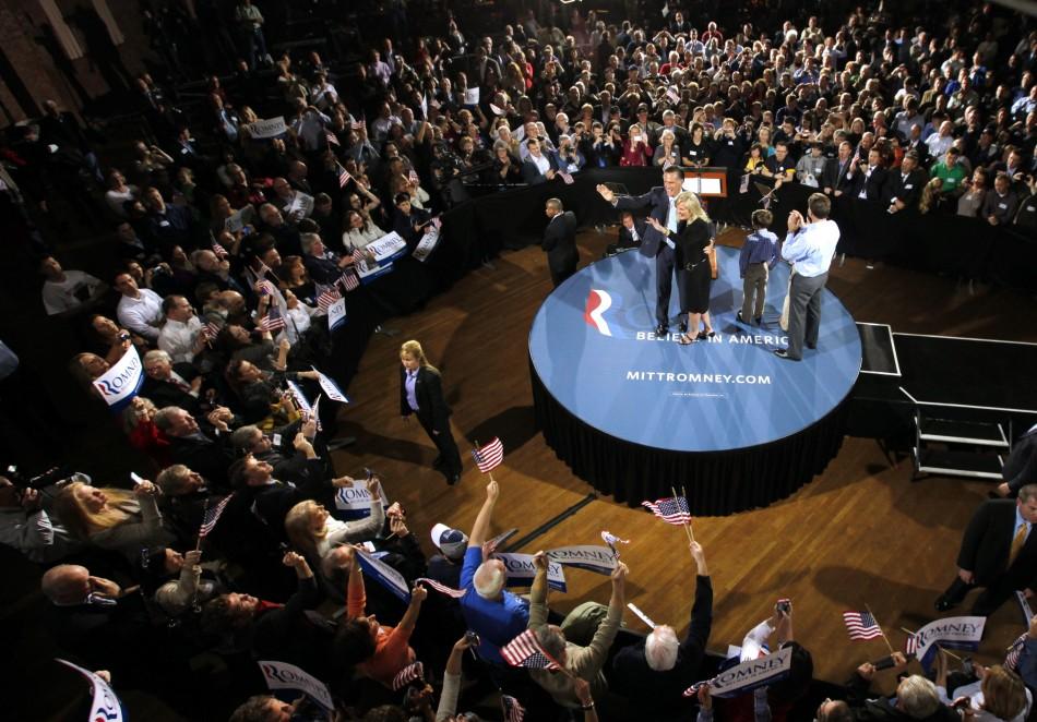 Mitt Romney had clean sweep in five Republican primaries