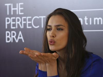 Irina Shayk Dazzles during Intimissimis Perfect Bra Book London Promotion