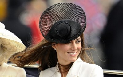 The Duchess of Cambridge walks in London