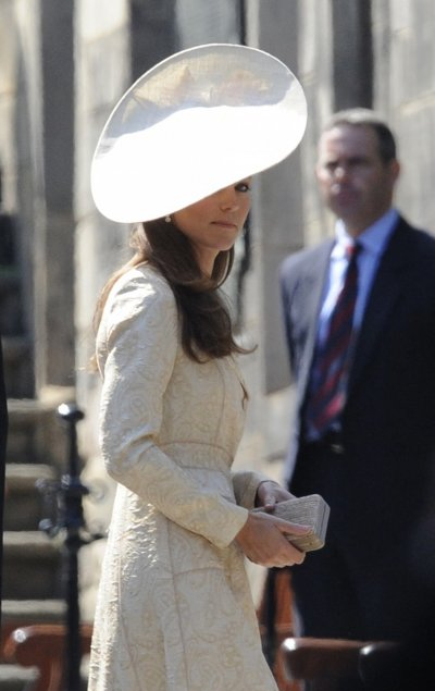 Britains Duchess of Cambridge Catherine Middleton was voted tenth most beautiful woman of 2012 by People magazine