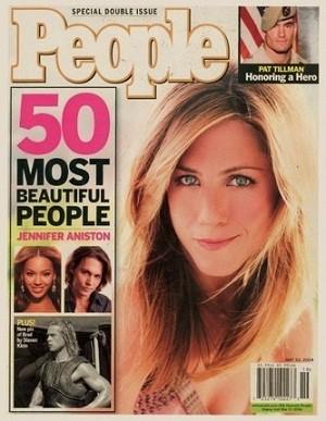 Jennifer Aniston in People Magazine