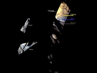 Tarpeia Crater, Close, Closer, Closest