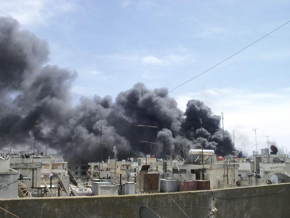 Syria bloodshed