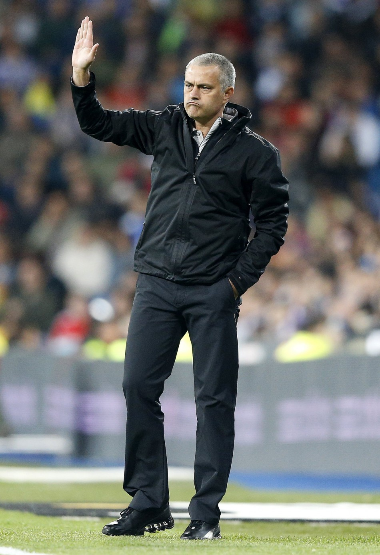 Real Madrid boss José Mourinho