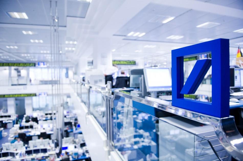 Deutsche Bank Trading Floor