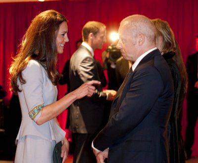 William  Kate Attend African Cats UK Premiere