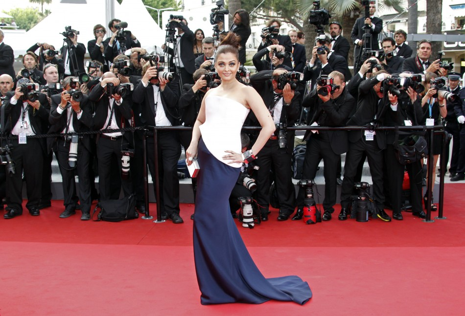 Bollywood actress Rai Bachchan arrives on the red carpet for the screening of the film quotSleeping Beautyquot at the 64th Cannes Film Festival 2011