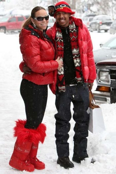 Mariah Carey dn Nick cannon