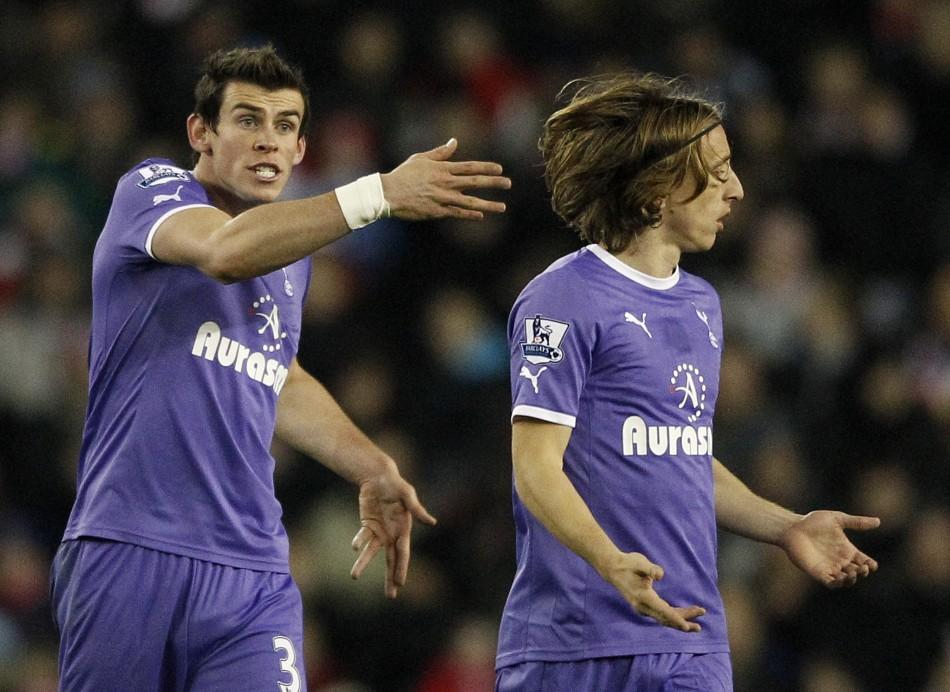 Gareth Bale and Luka Modric