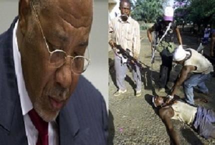 Former preident of Liberia Charles Taylor