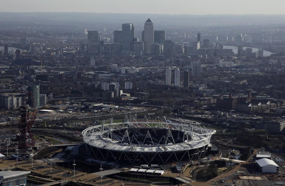 London Olympics 2012 stadium stratford east london