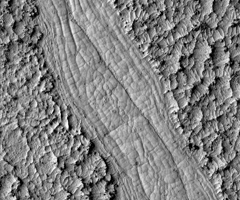 Spiral Patterns on Mars