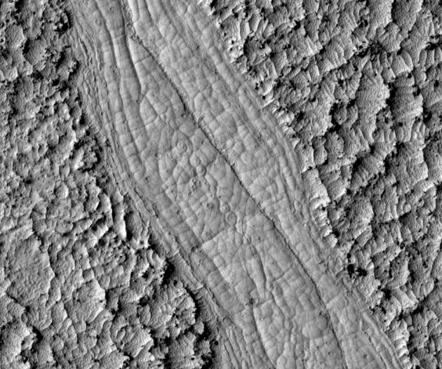 Spiral Patterns on Mars