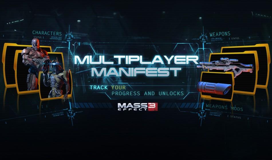 Mass Effect 3: Multiplayer Manifest