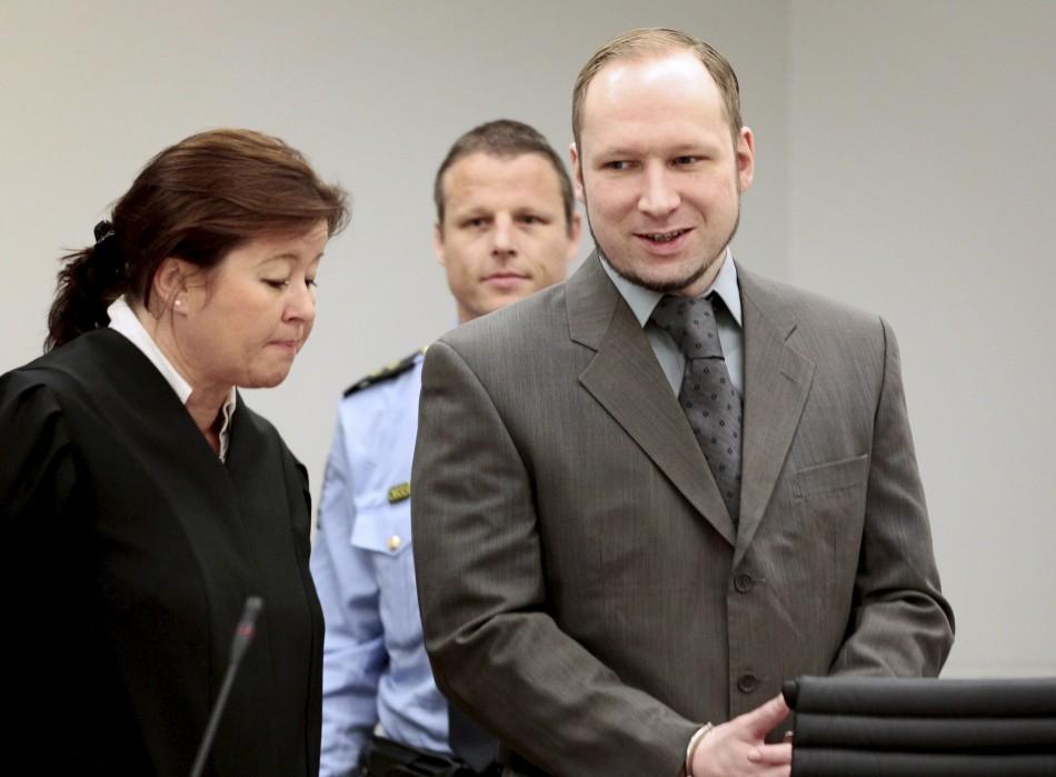 Anders Behring Breivik's trial will revolve on his sanity