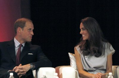 Kate Middleton with Her Man by Side