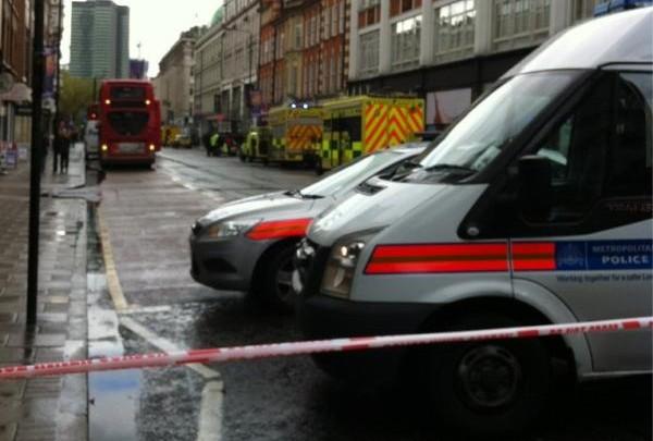 Tottenham Court Road bomb scare