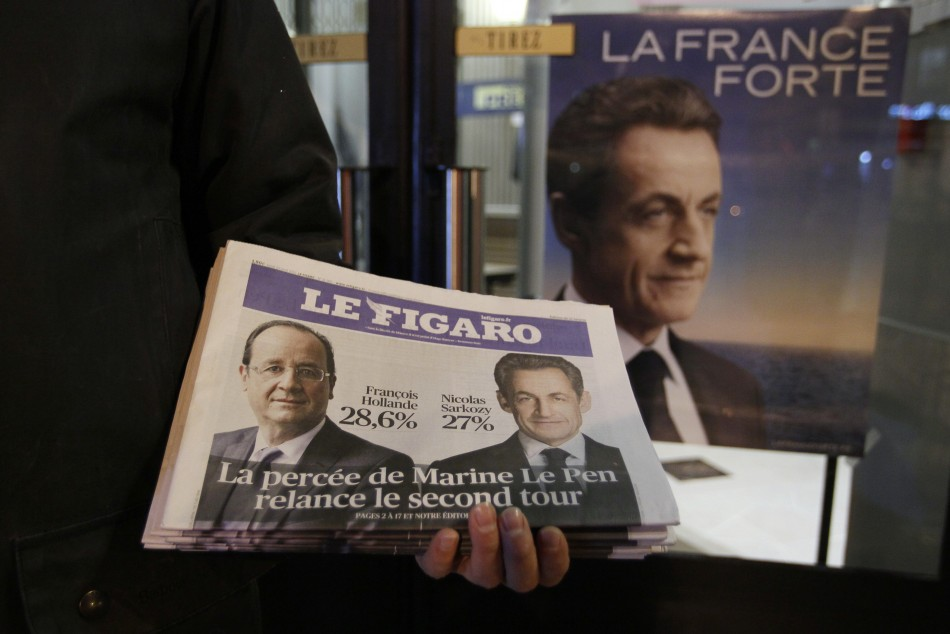 Sarkozy and Hollande battle for Le Pen voters