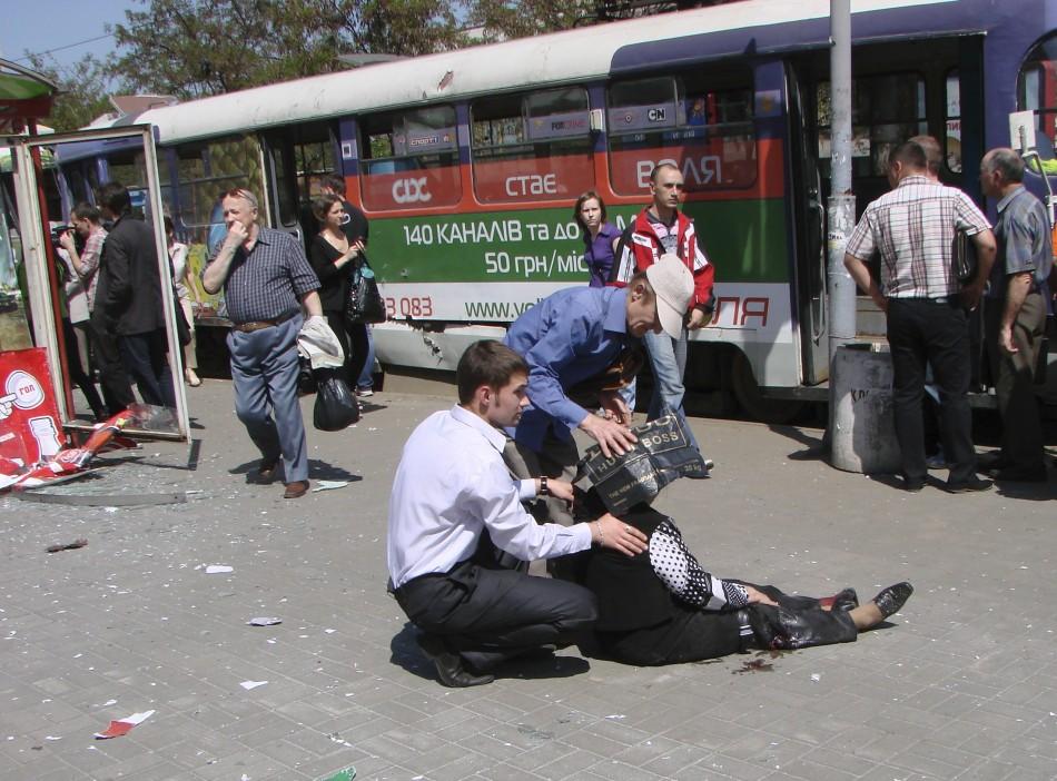 Ukraine bomb