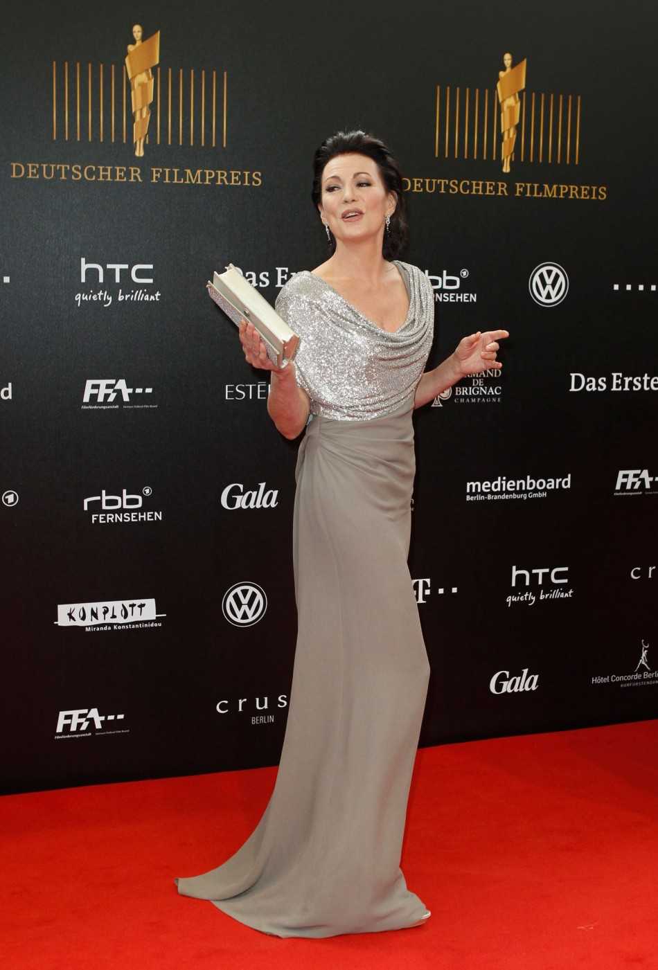 German Film Prize 'Lola' 2012: Most Stunning Red Carpet Beauties