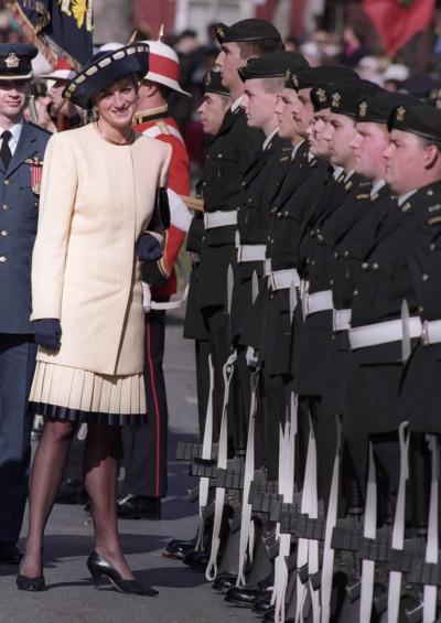 Princess Diana in formals